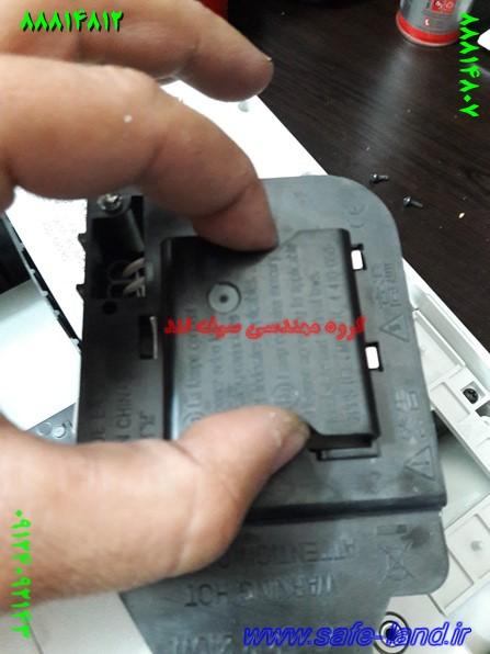 تعمیر ویدئو پروژکتور دیتا گروه مهندسی سیف لند تعمیر پروژکتور 136 - تعویض لامپ ویدئو پروژکتور سونی