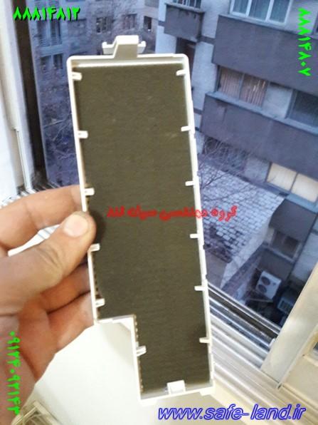 تعمیر ویدئو پروژکتور دیتا گروه مهندسی سیف لند تعمیر پروژکتور 144 - طریقه باد گرفتن فیلتر ویدئو پروژکتور