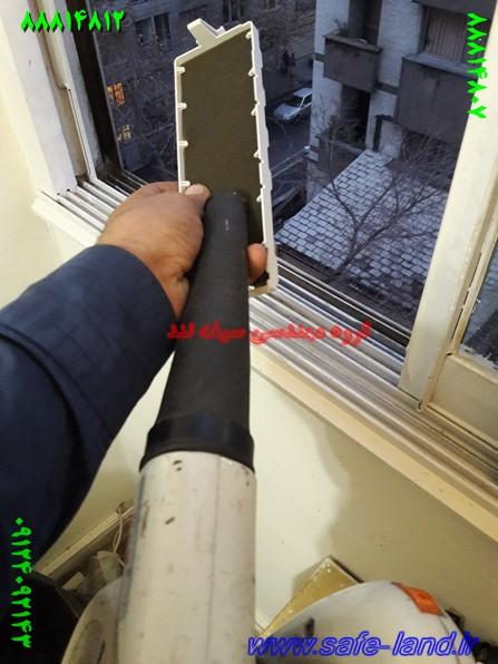 تعمیر ویدئو پروژکتور دیتا گروه مهندسی سیف لند تعمیر پروژکتور 145 - طریقه باد گرفتن فیلتر ویدئو پروژکتور