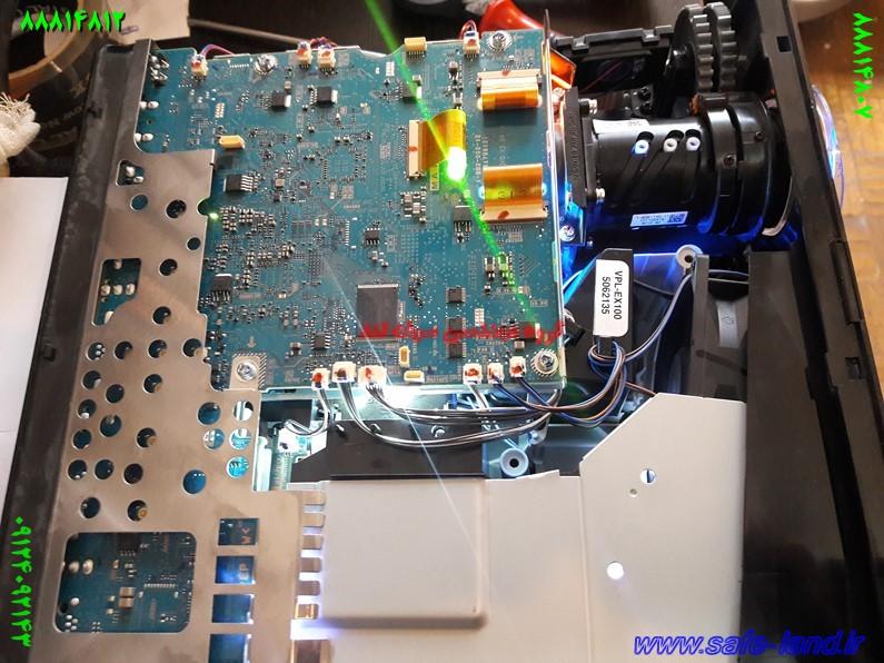 تعمیر ویدئو پروژکتور دیتا گروه مهندسی سیف لند تعمیر پروژکتور 84 - نمایندگی تعمیر ویدئو پروژکتور سونی
