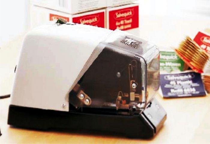 100 - فروش و تعمیر منگنه برقی وکارتریج